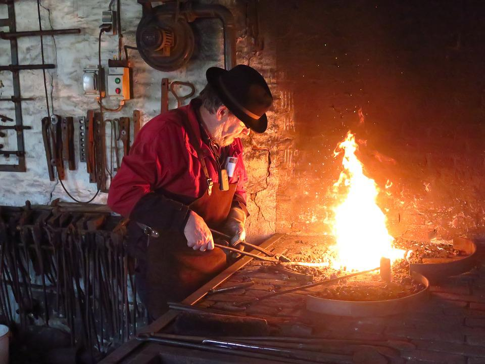 Blacksmith, Museum, Smithy, Fire, Hot, Experience