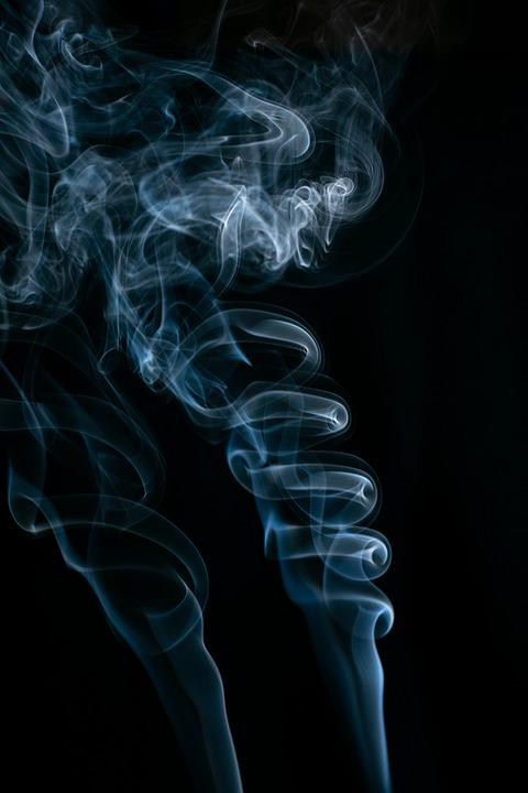 Smoke Art, Abstract, Smoke, Incense, Art, Dark