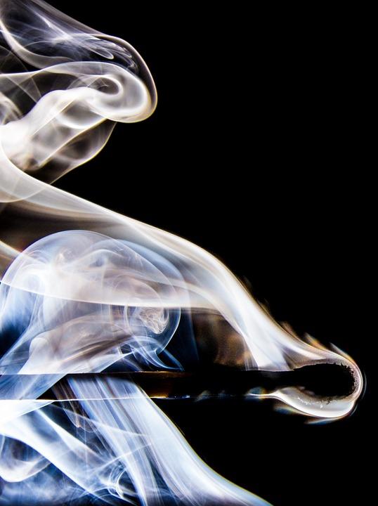 Match, Smoke, Match Head, Sticks, Matches, Burn, Flame
