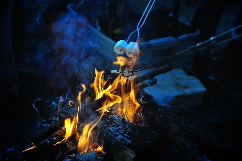 Flame, Smoke, Heat, Danger, Inferno, Marshmallow, Hot