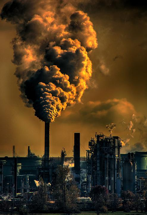 Global Warming, Pollution, Environment, Smoke, Industry