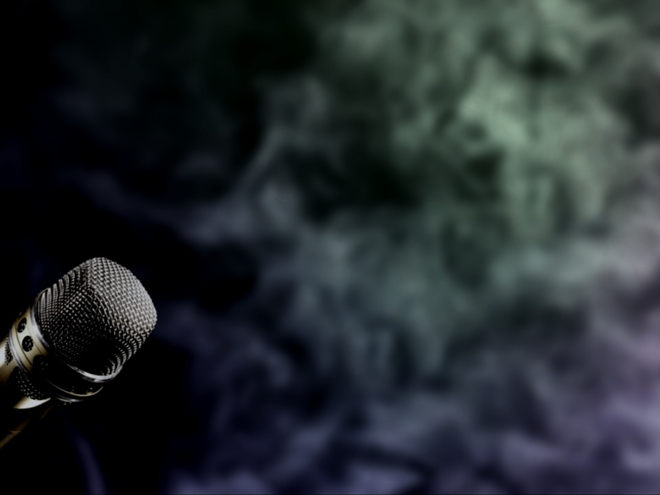 Wallpaper, Microphone, Smoke, Concert, Music, Public