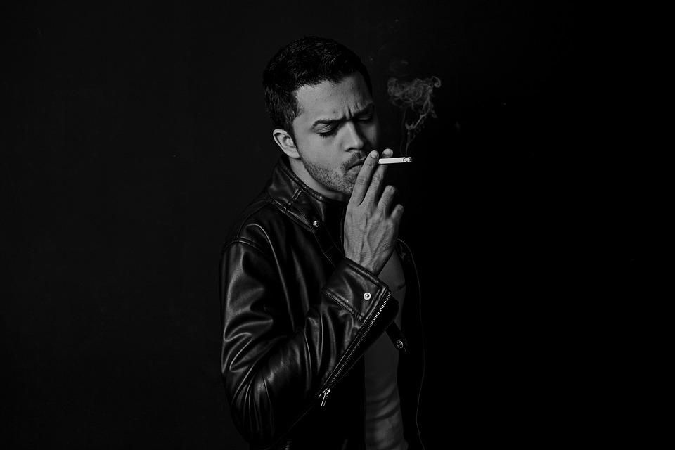 Cigarette, Dark, Man, Smoke, Smoking