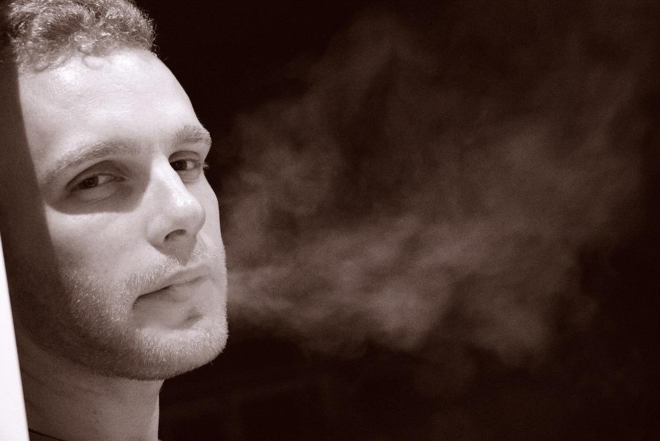 Smoke, Smoking, Weed, Portrait, Face, Steam, Man