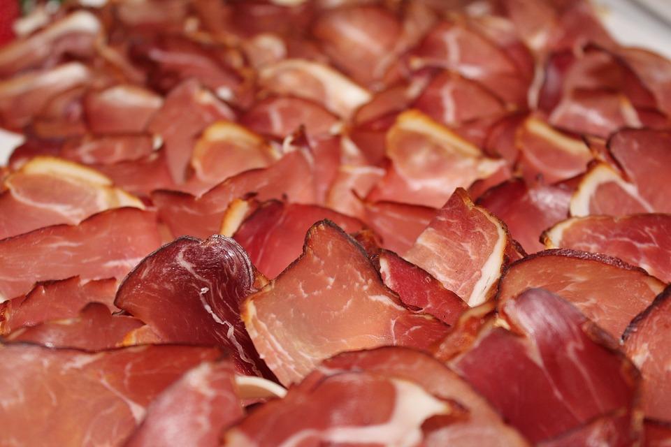 Black Forest Ham, Ham, Cold Buffet, Smoked Ham, Meat