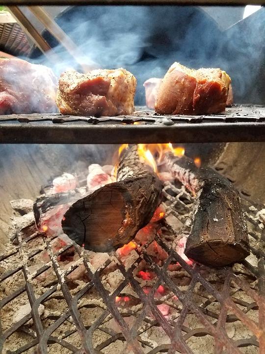 Smoker, Smoke, Steak, Grill, Tenderloin, Fillet
