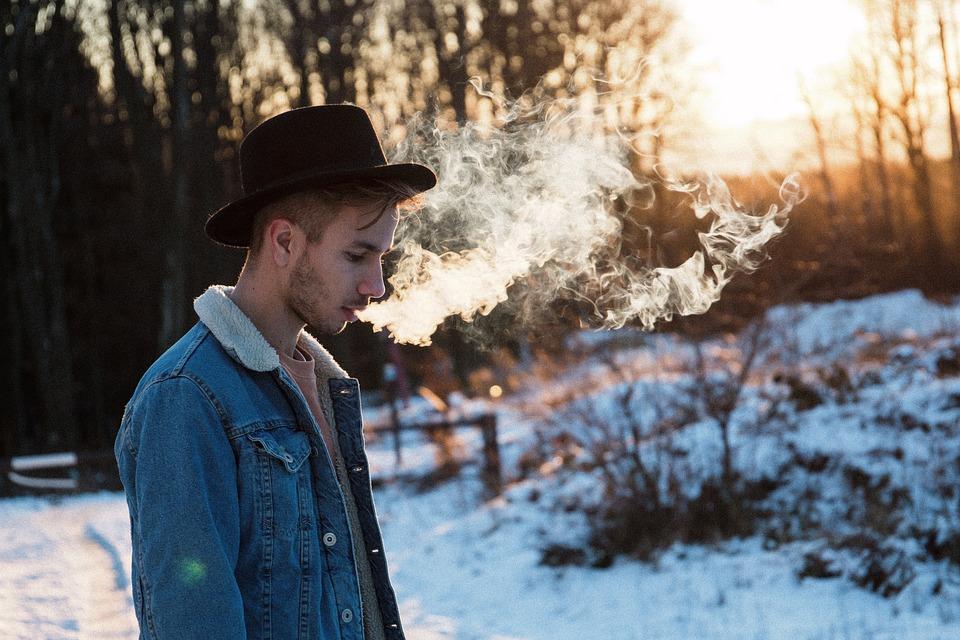 People, Man, Guy, Male, Alone, Smoking, Smoke, Outdoor