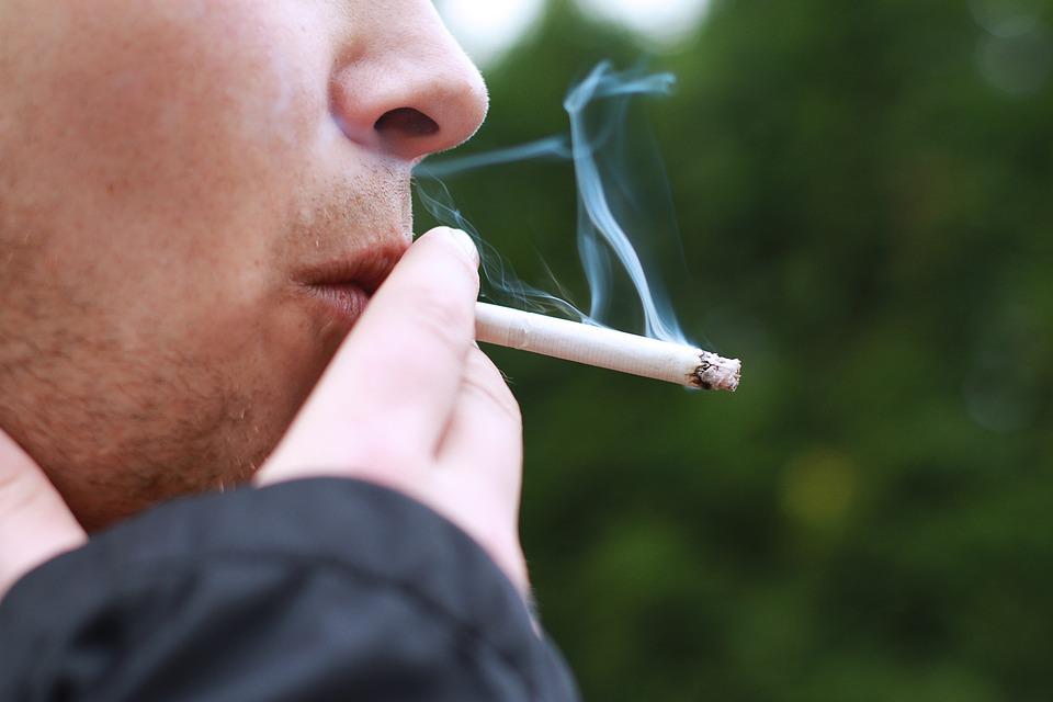 Smoking, Smoke, Cigarette, Man, Lung Cancer