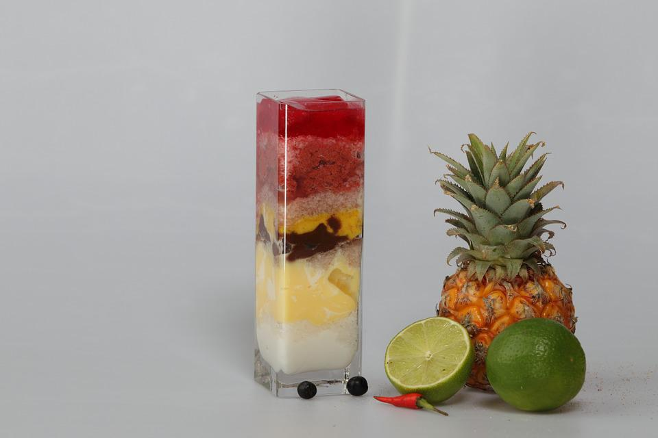 Cocktail, Mix, Fruit, Drink, Smoothie