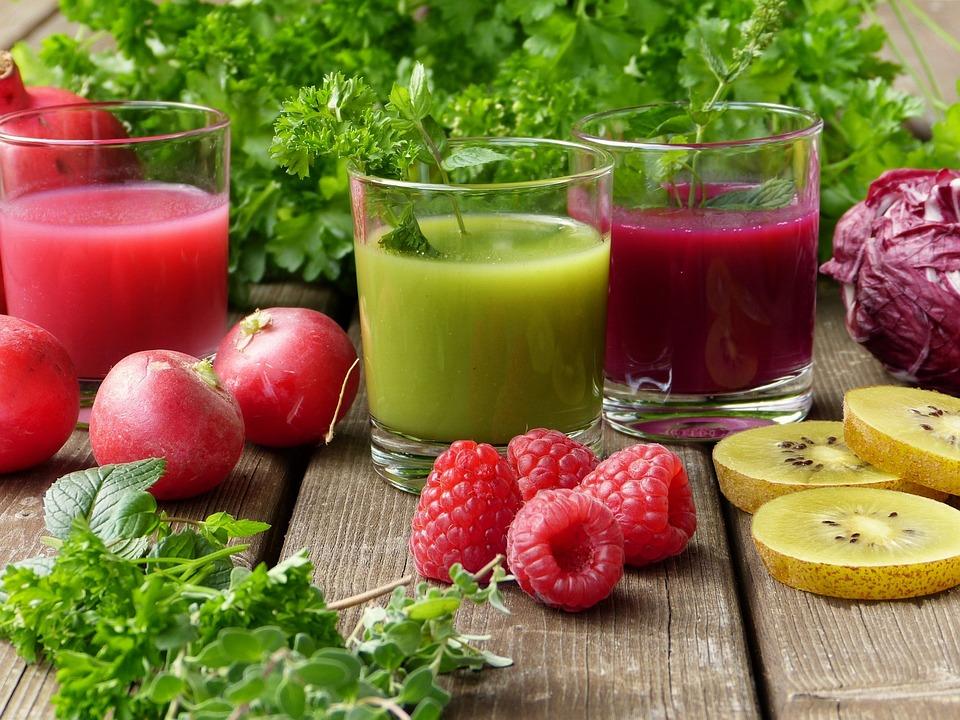 Herbs, Smoothies, Juice, Vegetables, Fruit, Fresh