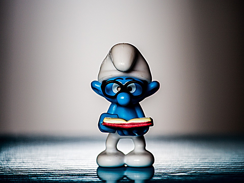 Smurf, Read, Collect, Decoration