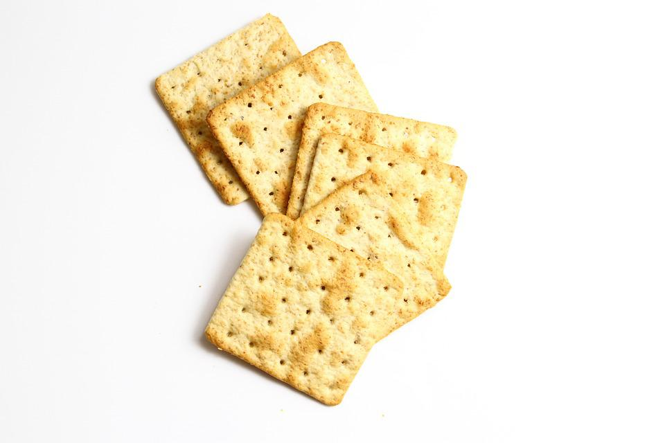 Biscuit Crackers, Biscuits, Healthy, Food, Snack, White