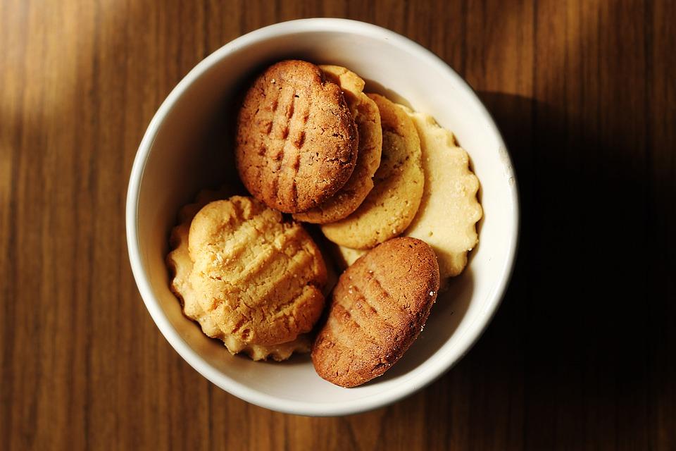 Cookies, Food, Bright, Warm, Biscuits, Snack