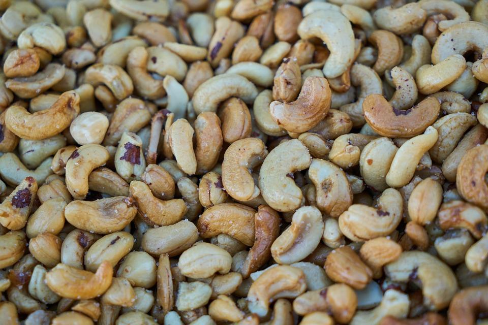 Cashew, Peanut, Snack, Healthy, Diet, Natural, Almond
