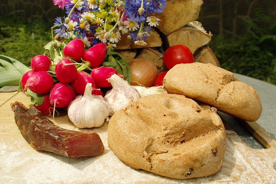 Roll Bread, Snack, Loin