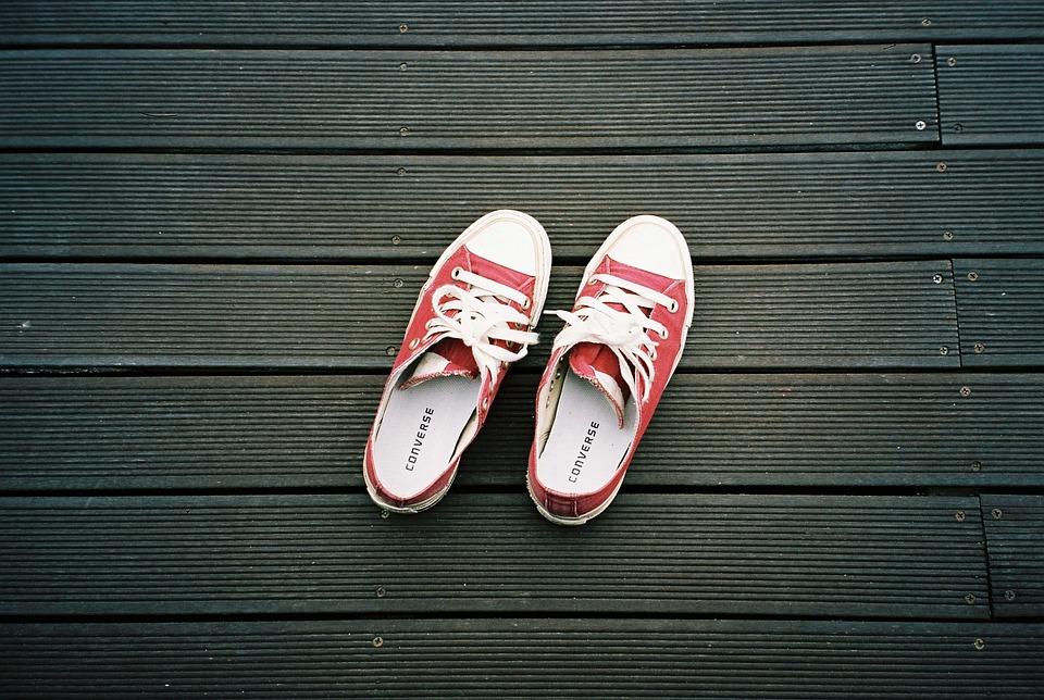 Size Chart Shoes Converse: Free photo Sneaker Converse Sneakers Red Shoes Canvas Screen - Max ,Chart
