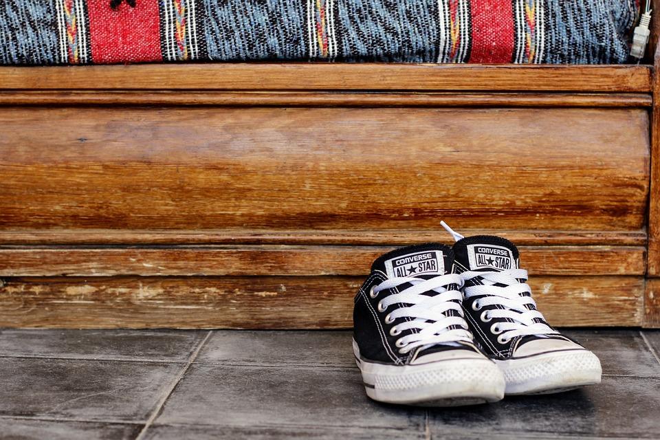 Shoes, Black, Women's Shoes, Sneaker