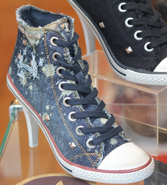 High Heel, Shoes, Sneakers, Footwear