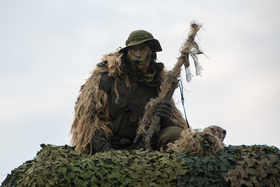Sniper, Military, Showcase, Camouflage, Army, Soldier