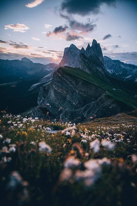Mountain, Landscape, Snow, Sky, Nature, Alpine, Sight