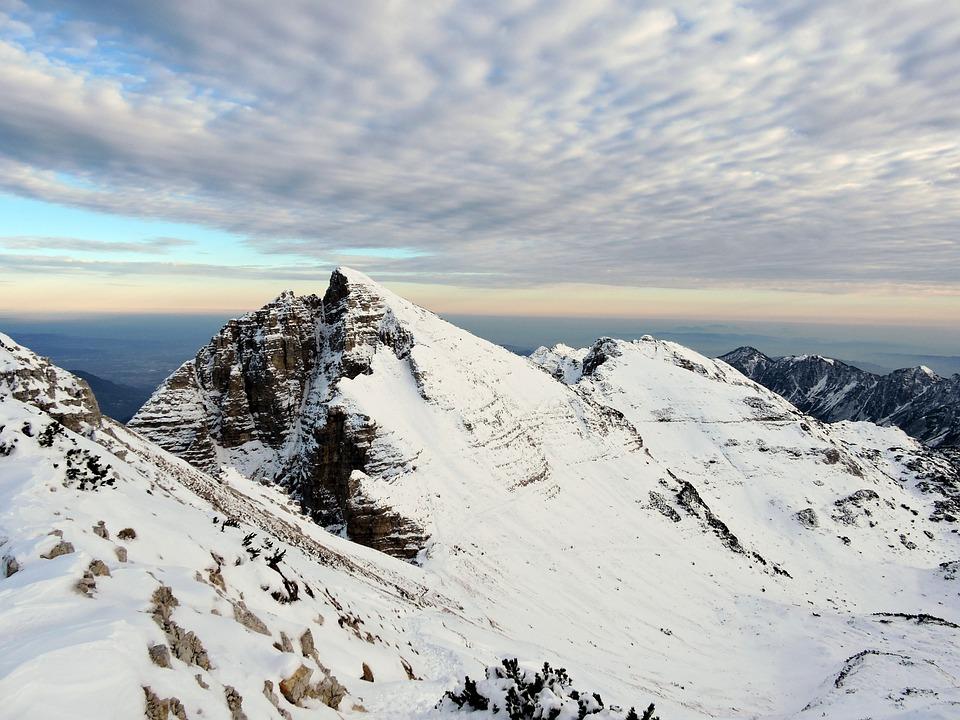 Mountains, Snow, Clouds, Sky, Alps, Carega, Landscape