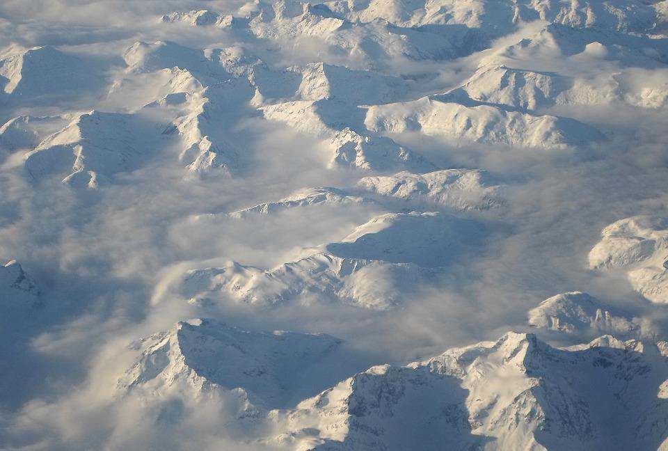Mountain, Snow-capped, Canada, Peaks, Snow, Range