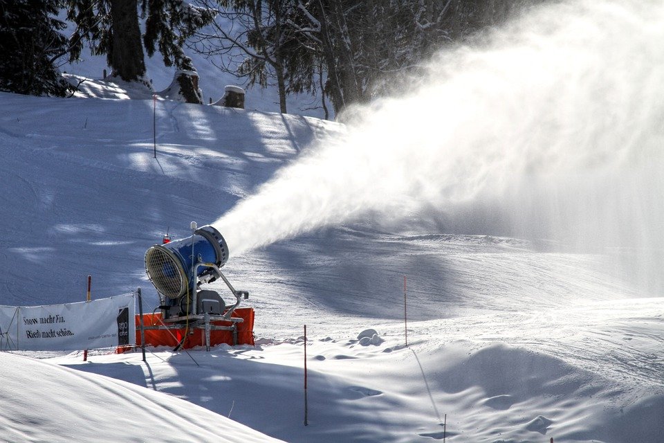 Snow Cannon, Snow Making System, Snow Guns
