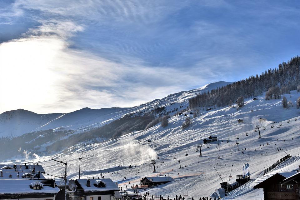 Ski Run, Ski Lift, Skiing, Snow Cannons, Snow