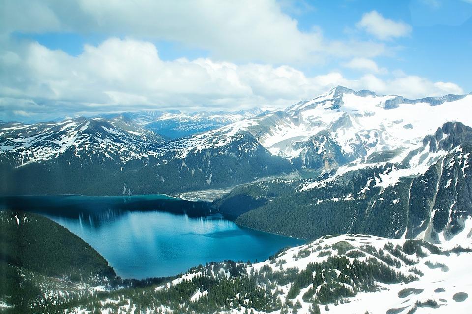 Mountains, Snow Capped Mountains, Landscape, Nature