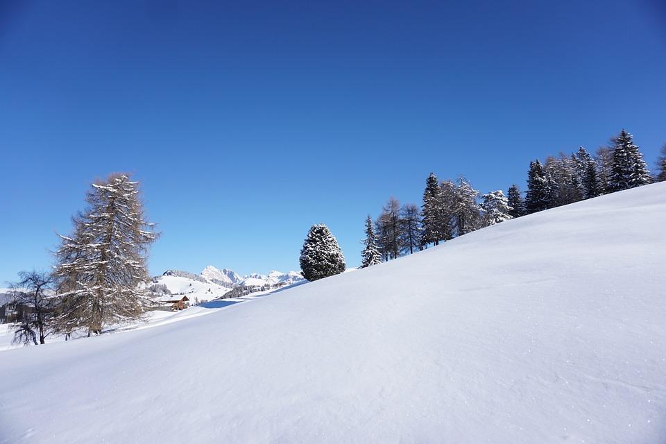Landscape, Snow, Winter, Cold, Blue Sky, Mountain, Ice