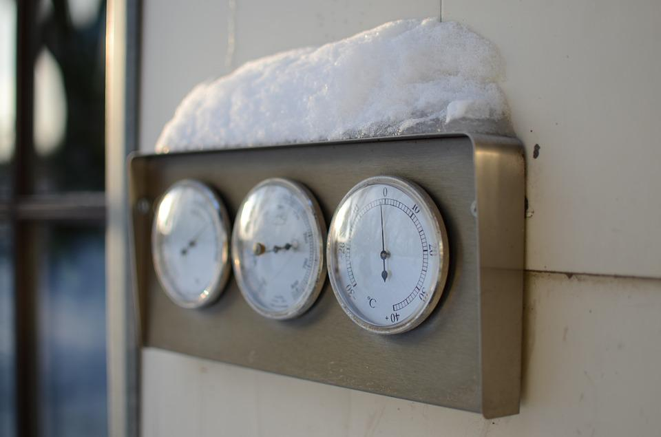 Thermometer, Winter, Snow, Cold, Temperature, Ice