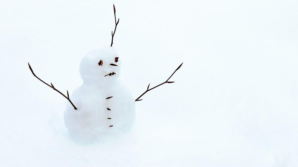 Snow Man, Snow, Winter, Snowmen, White, Cold, Wintry