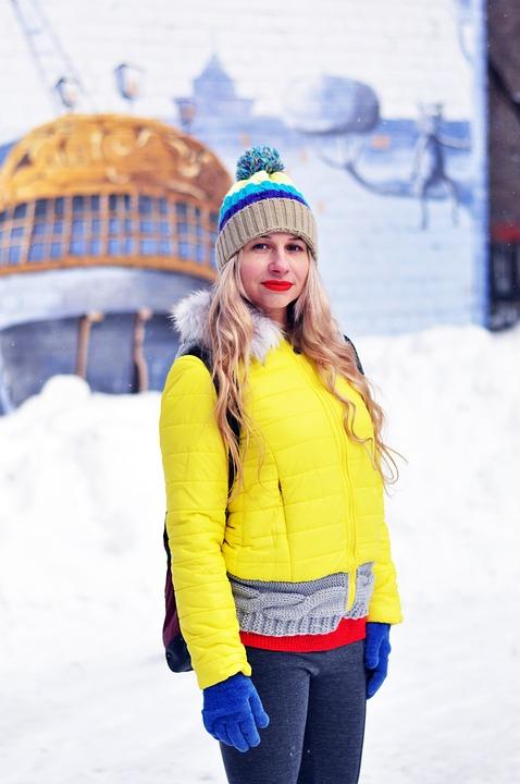 Voronezh, In Voronezh, Winter, Coldly, Snow, Glove