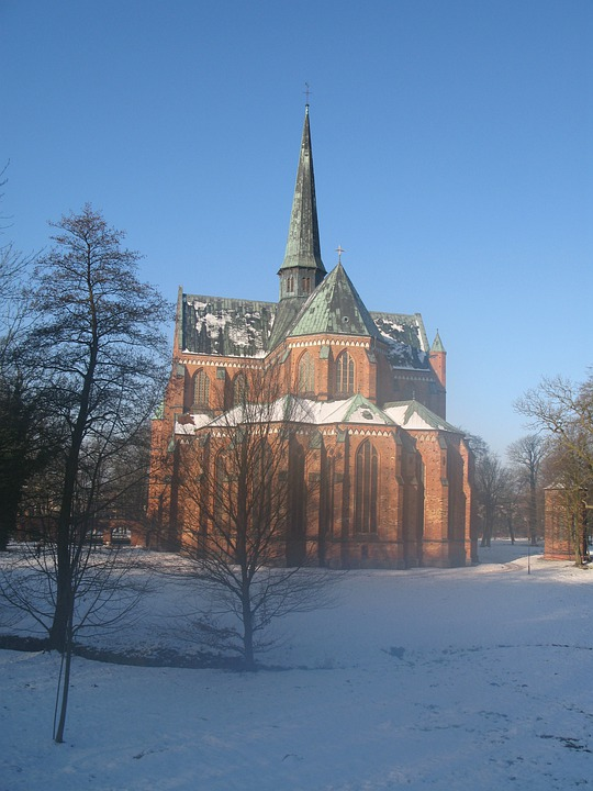 Bad Doberan, Dom, Winter, Church, Ice Cold, Snow, Cold
