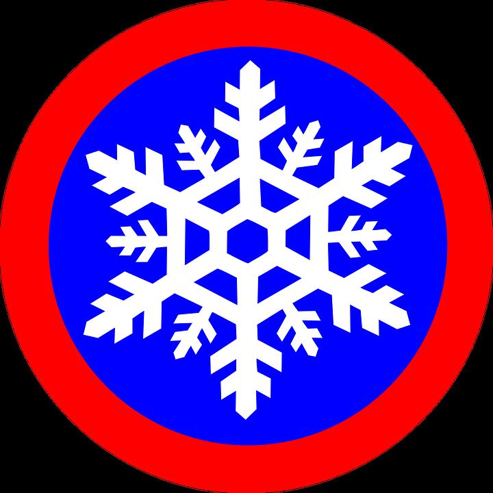 Snow Flower, Snowflake, Symbol Snow