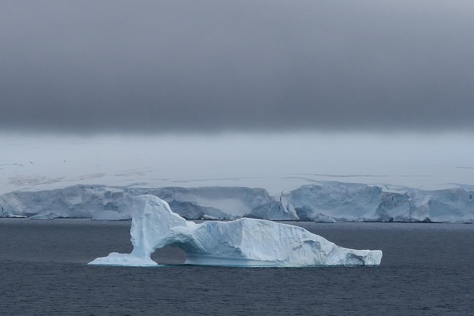 Antarctica, Ice, Snow, Iceberg, Blue, Frozen, Floating