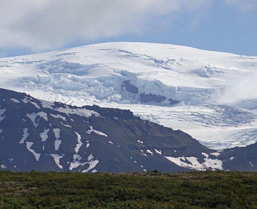 Glacier, Snow, Mountains, High Mountains
