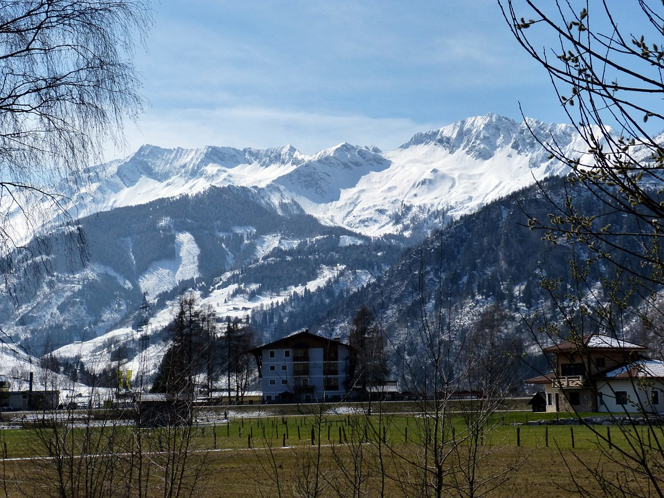 Uttendorf, High Tauern, Zwölferkogel, Mountains, Snow