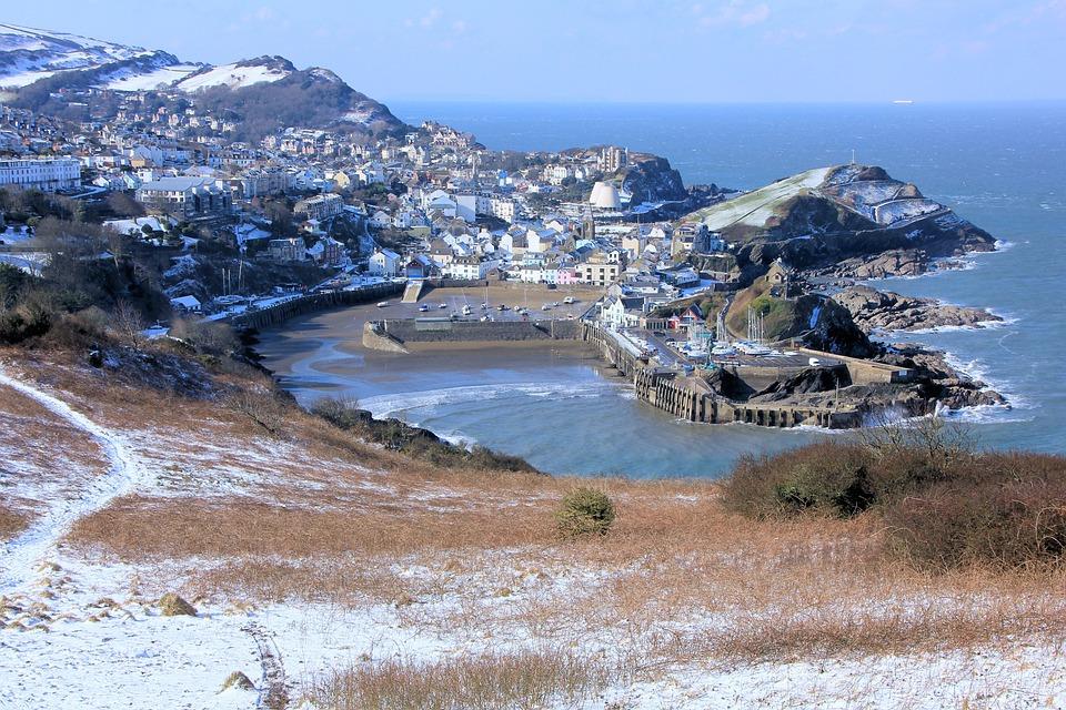 Ilfracombe, Devon, Snow, Seascape