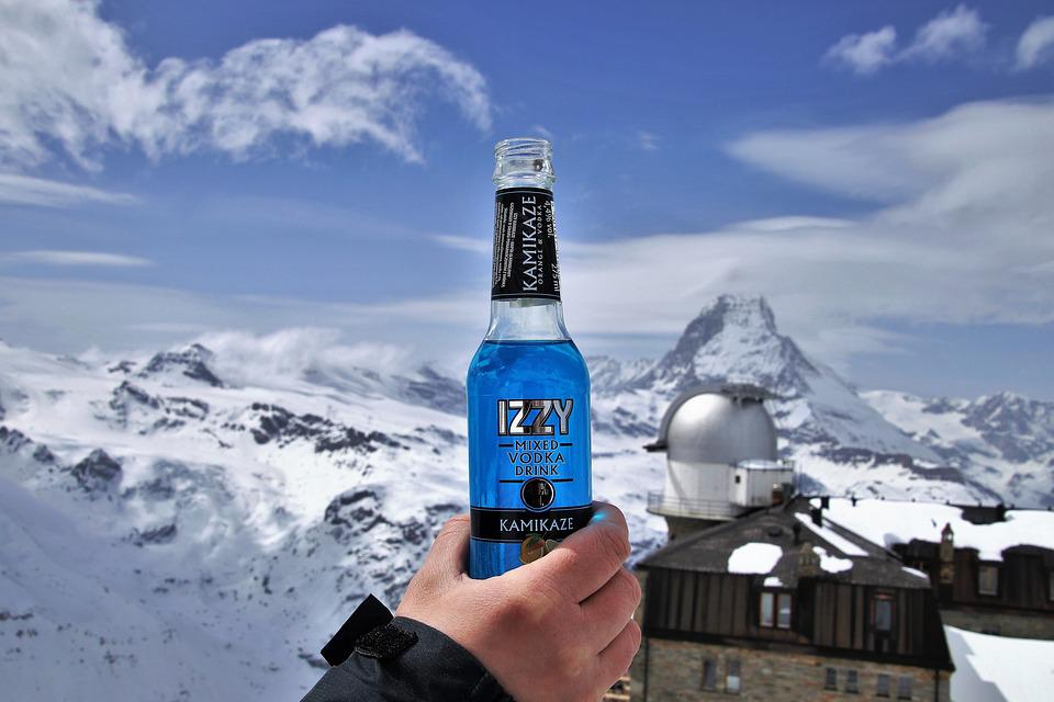 The Alps, Matterhorn, Alcohol, Banned, Snow, In Moscow