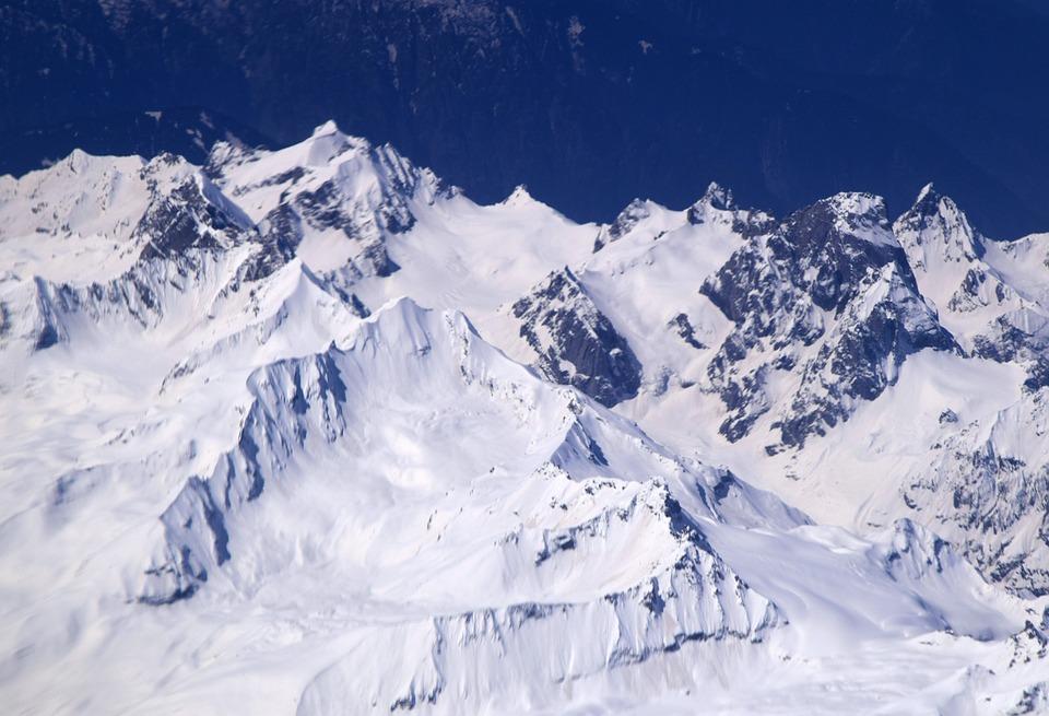 Ladakh, Peaks, Snow, Mountain