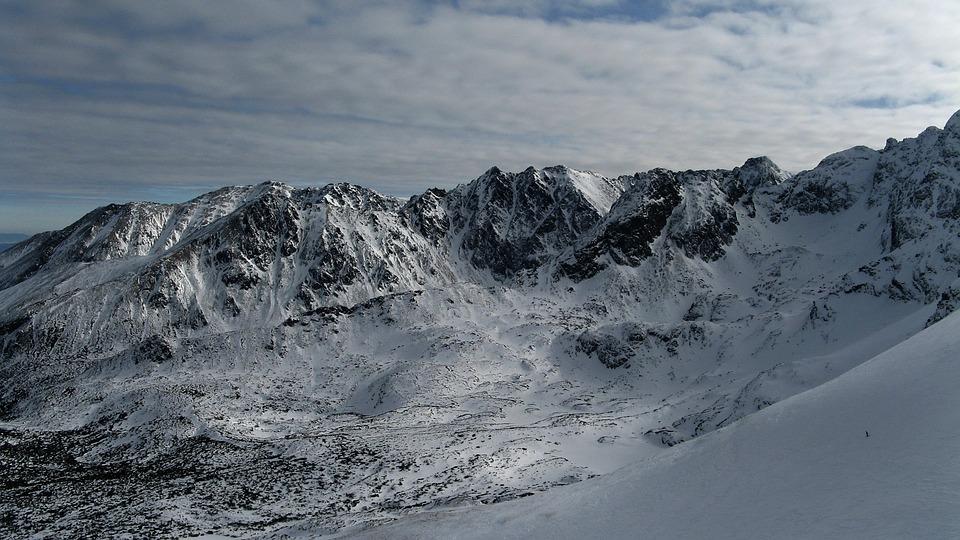 Snow, Nature, No One, Landscape, Winter, Mountains
