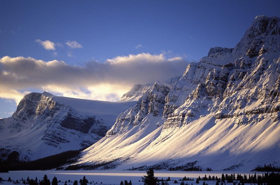 Mountain, Snow, Nature, Landscape, Sky, Panoramic