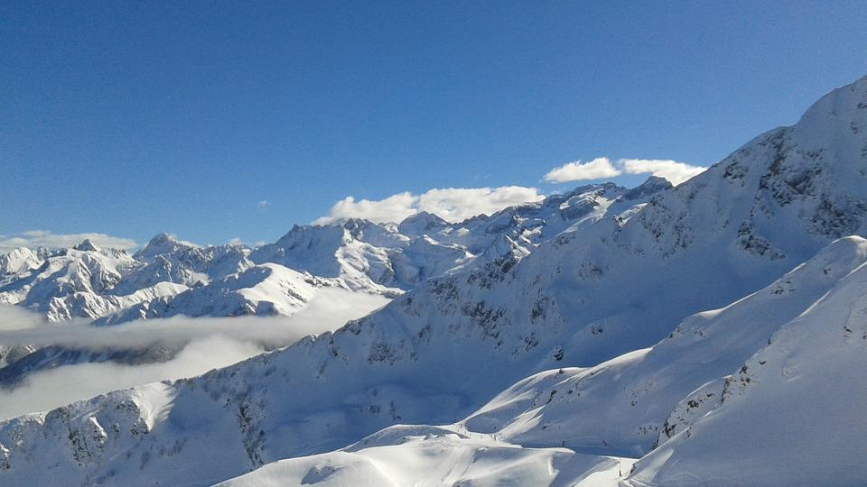 Snow, Mountain, Winter, Ski, Landscape, Pyrénées