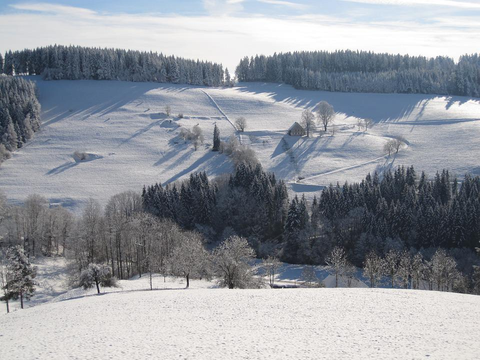 Winter, Snow Landscape, Snow, Panorama, Wintry