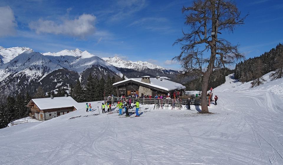 Ski Resort, Madonna Di Campiglio, Italy, Snow