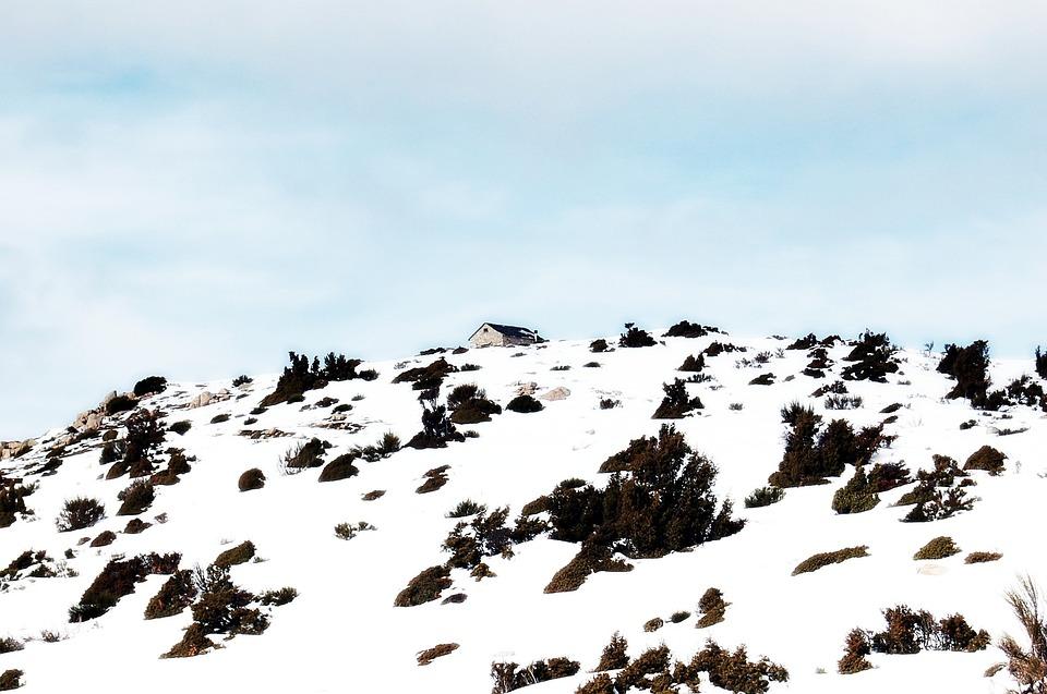 Matagalls, Mountains, Snow, Mountain, Landscape, Nature
