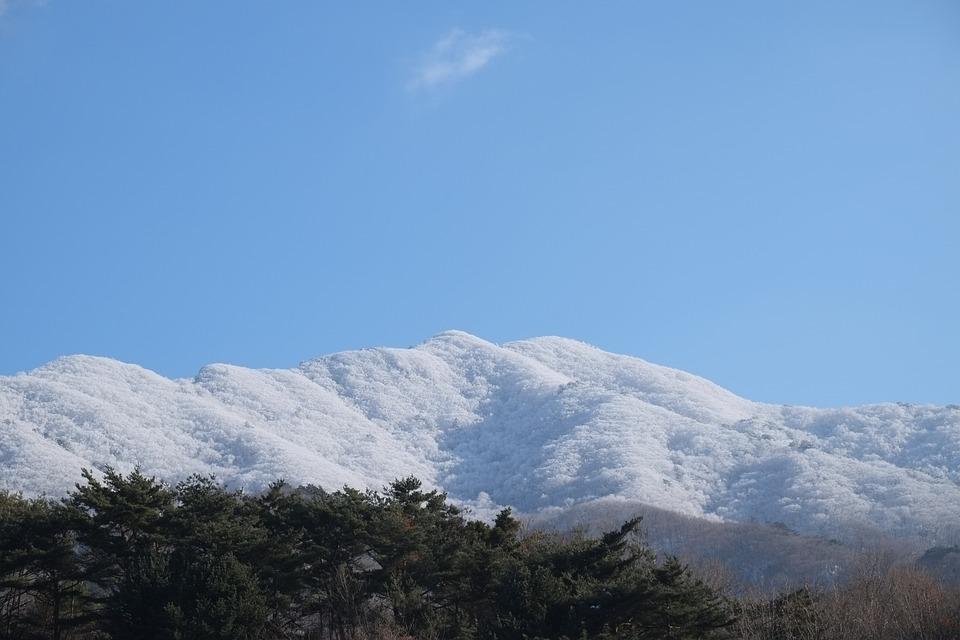 Deogyusan, Hard Rime, Snow Mountain