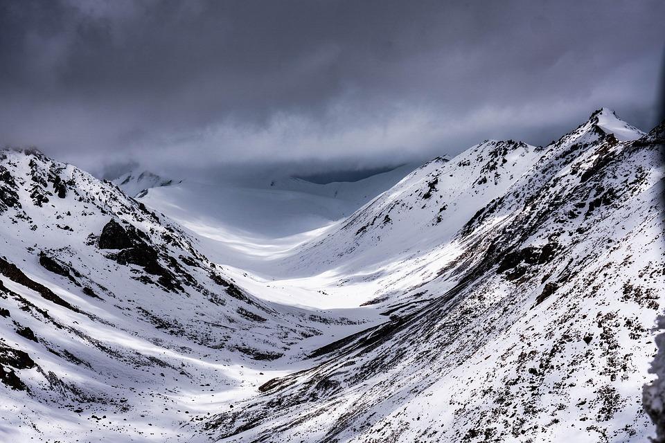 Snow, Mountain, Mountains, Winter, Nature