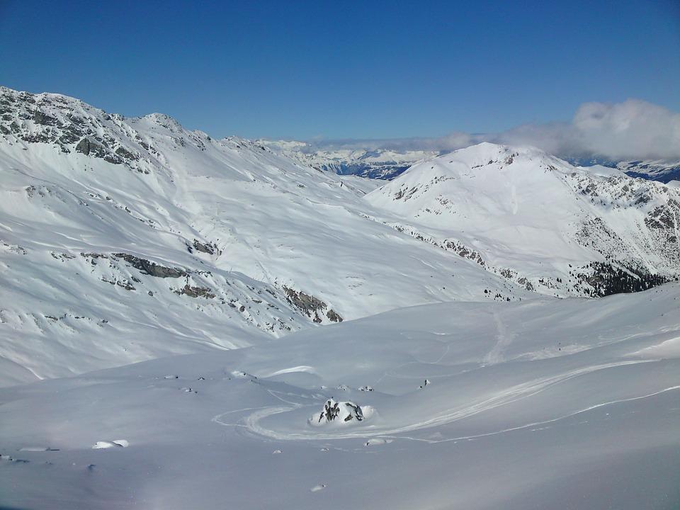 Snow Landscape, Snow, Winter, Mountains, Alpine